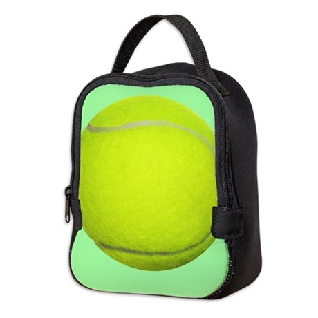 Tennis Ball Sport Neoprene Lunch Bag