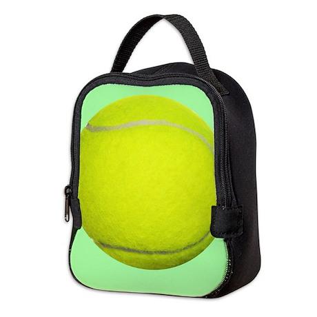 Tennis Ball Sport Neoprene Lunch Bag