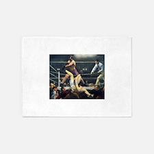 boxing art 5'x7'Area Rug