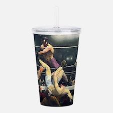 boxing art Acrylic Double-wall Tumbler