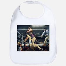 boxing art Bib