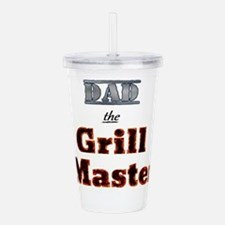 Dad - the Grill Master Acrylic Double-wall Tumbler