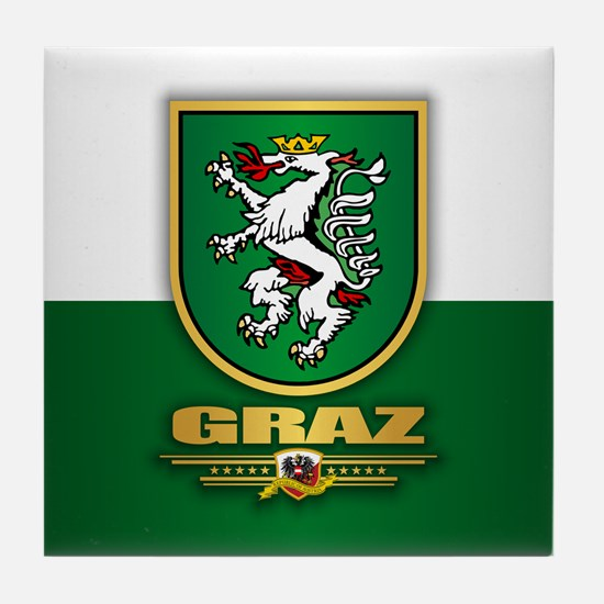 Graz Tile Coaster