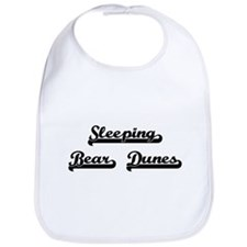 Sleeping Bear Dunes Classic Retro Design Bib