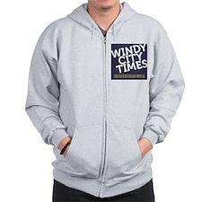 WCT logo Zip Hoodie