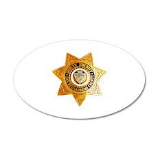 San Bernardino County Sherif Wall Decal