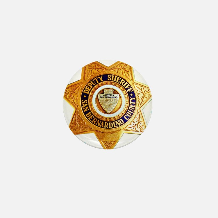 San Bernardino County Sheriff Mini Button