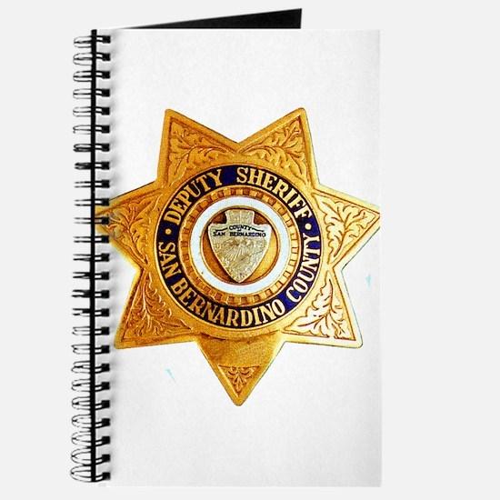San Bernardino County Sheriff Journal