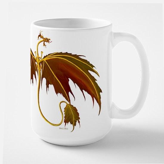 maple leaf dragon Mugs