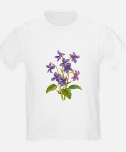 Purple Violets T-Shirt