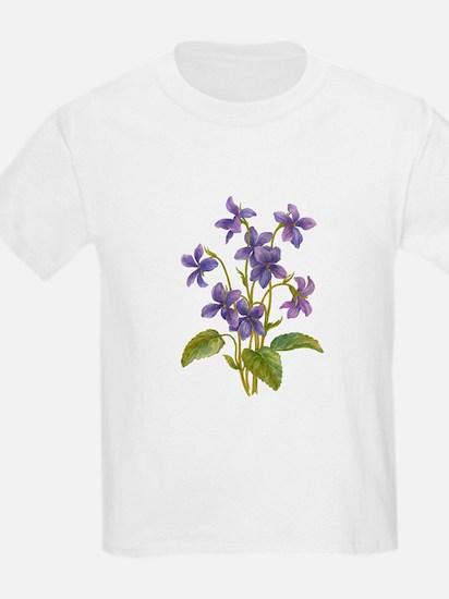 Purple Violets T-Shirt