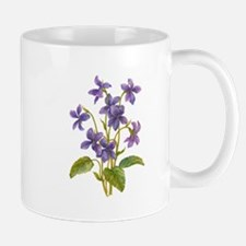 Purple Violets Mug