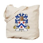 Jeune Family Crest Tote Bag