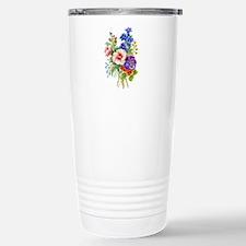 Summer Bouquet Stainless Steel Travel Mug