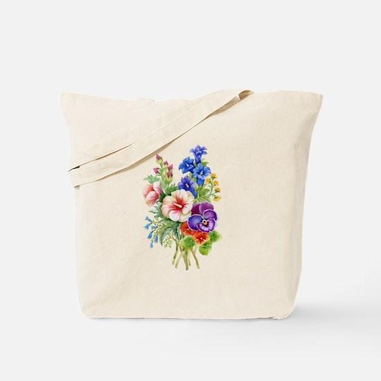 Summer Bouquet Tote Bag