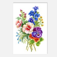 Summer Bouquet Postcards (Package of 8)
