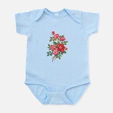 Romantic Red Roses Infant Bodysuit
