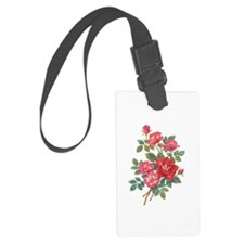 Romantic Red Roses Luggage Tag