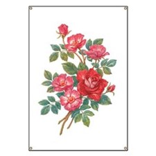 Romantic Red Roses Banner