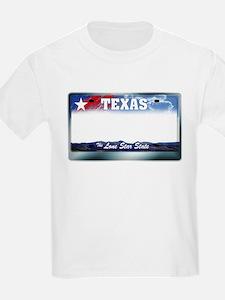 Texas License Plate T-Shirt