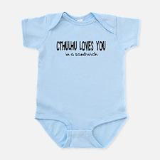 Unique Hp lovecraft Infant Bodysuit