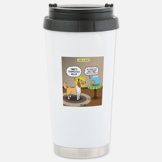 Timmys Fish Stainless Steel Travel Mug