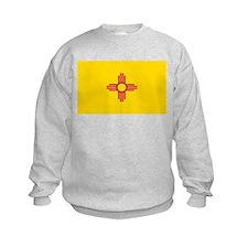New Mexico Flag Yellow Sweatshirt
