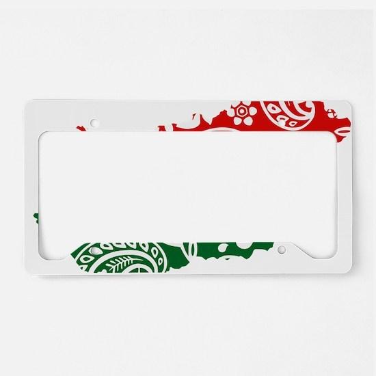 Paisley Hungary License Plate Holder