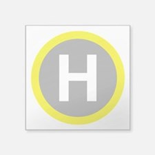 Helipad Sign Sticker