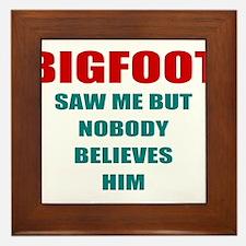 bigfoot eyeful Framed Tile