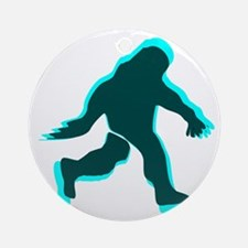 Bigfoot shadow Ornament (Round)