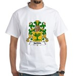 Jardin Family Crest White T-Shirt
