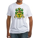 Jardin Family Crest Fitted T-Shirt