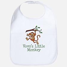 Vovo's Little Monkey Bib