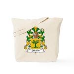Jardin Family Crest Tote Bag