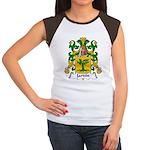 Jardin Family Crest Women's Cap Sleeve T-Shirt