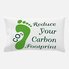 Carbon Footprint Pillow Case