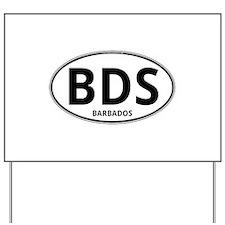 BDS - Barbados Yard Sign