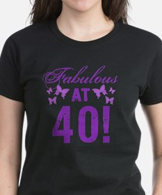 Fabulous 40th Birthday Tee