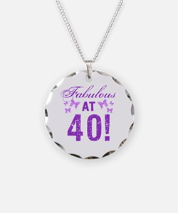 Fabulous 40th Birthday Necklace