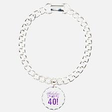 Fabulous 40th Birthday Bracelet
