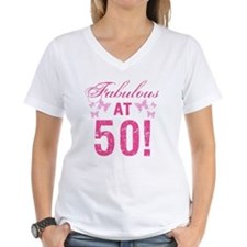 Fabulous 50th Birthday Shirt