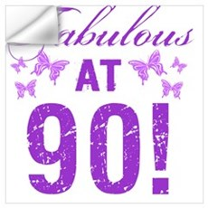 Fabulous 90th Birthday Wall Decal