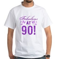 Fabulous 90th Birthday Shirt
