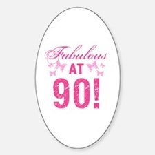 Fabulous 90th Birthday Decal