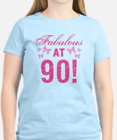 Fabulous 90th Birthday T-Shirt