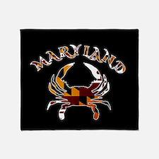 Maryland Crab Throw Blanket