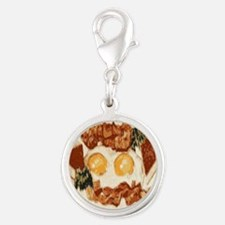 Bacon and Eggs Charms