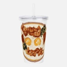 Bacon and Eggs Acrylic Double-wall Tumbler