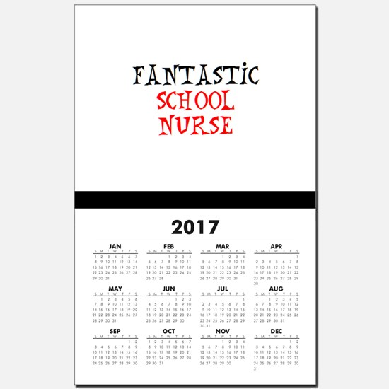fantastic school nurse Calendar Print